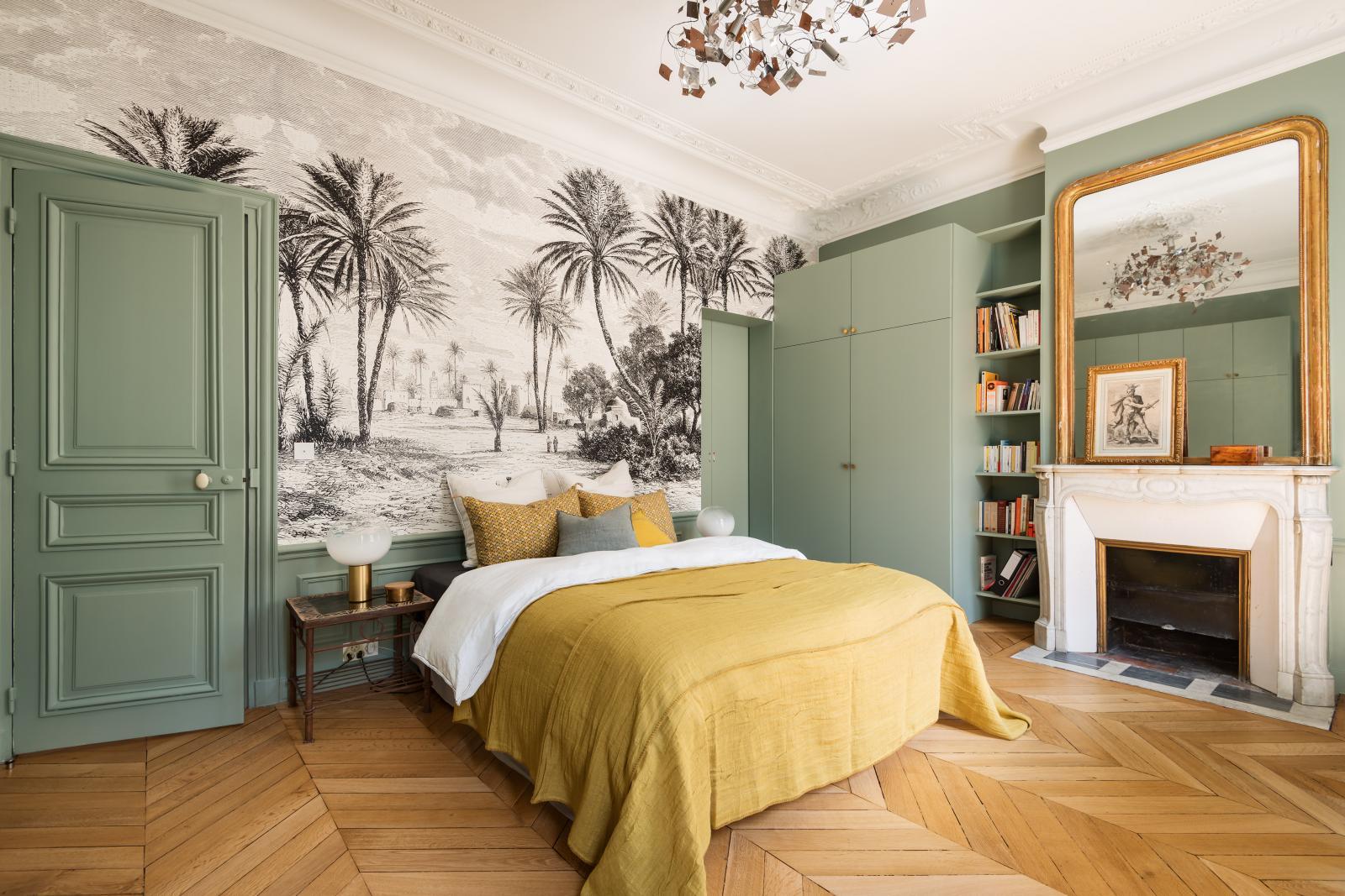 8 Idees A Piquer Dans Ce Superbe Appartement Haussmannien Madame Decore